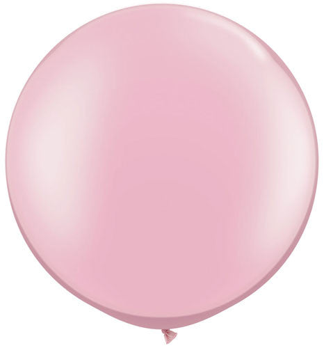 Jumbo Pastel Pink Balloon, 30 in. QTY. 1