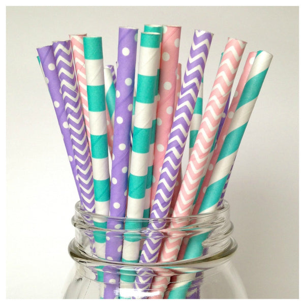 cupcake party straws