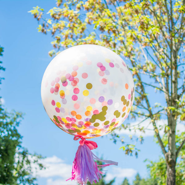 Giant Birthday Confetti Balloon