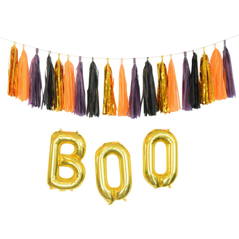 chic halloween decorations gold