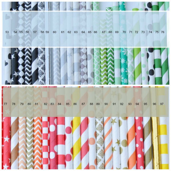 paper straw options