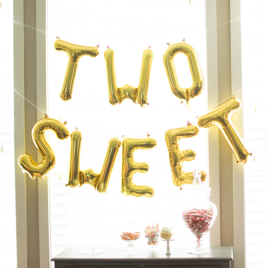 two sweet candy party