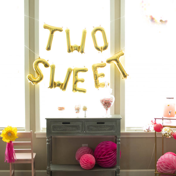 two sweet birthday