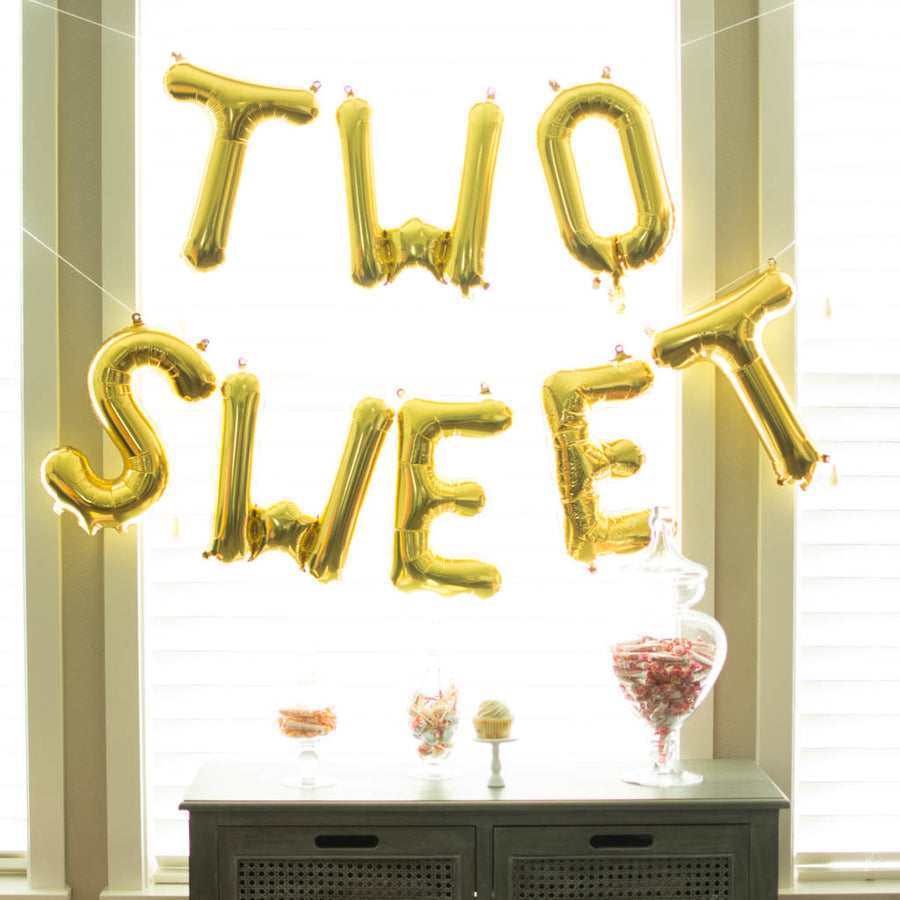 two sweet balloons