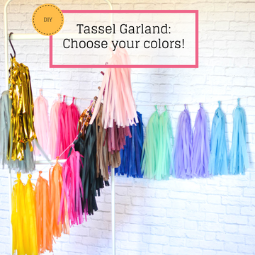 Design Your Own Tassel Garland Kit