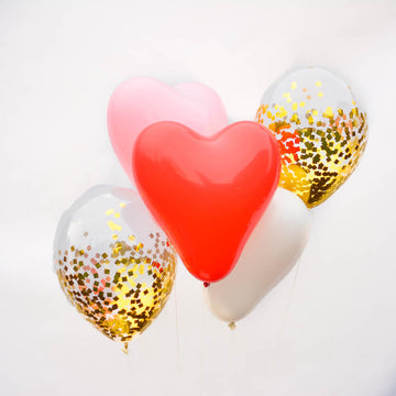 valentine balloon bouquet