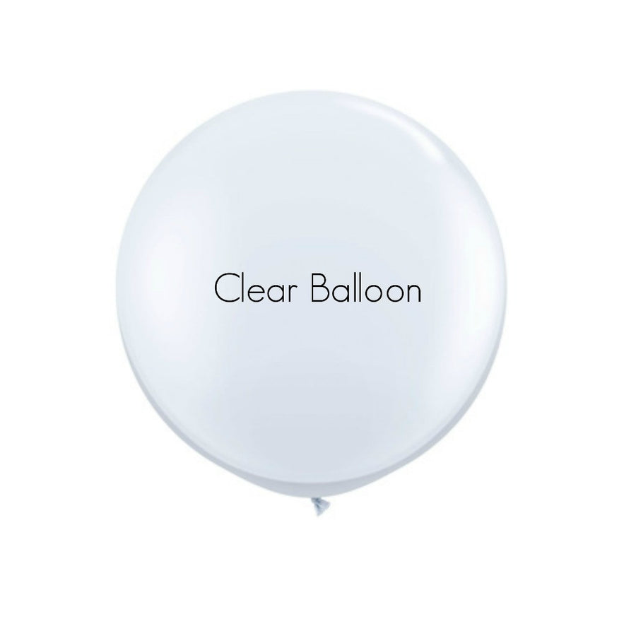 clear balloon