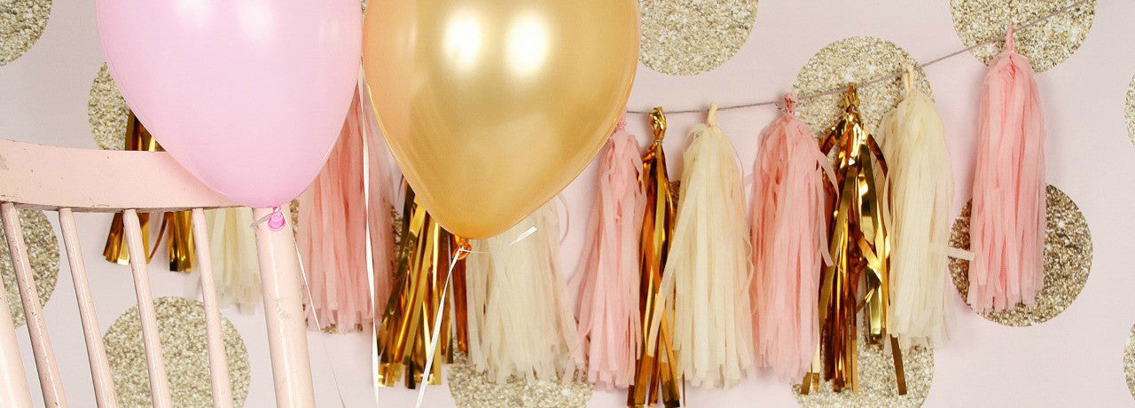Tissue Tassel Garlands
