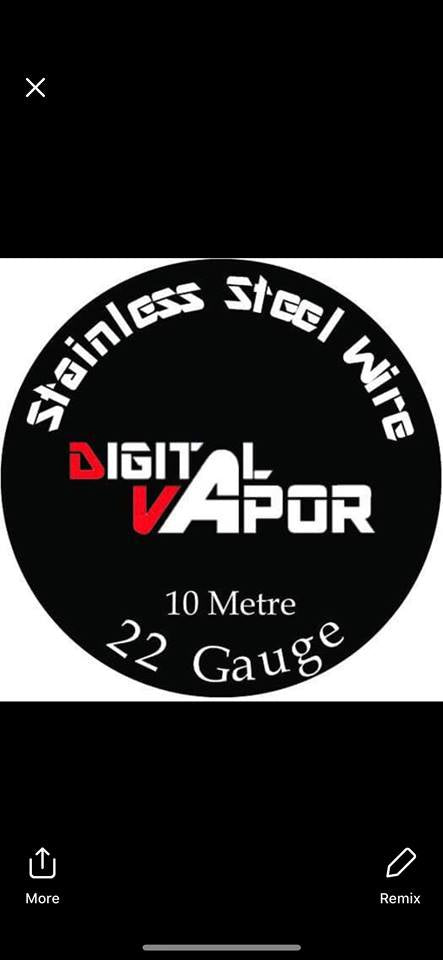 Digital Vapor Wire - Stainless Steel