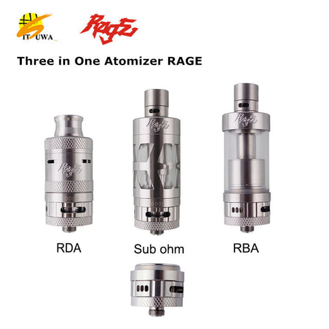 Rage RDA, RTA, Tank All in One Itsuwa