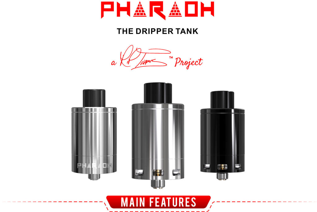 Pharaoh Dripper Tank Digiflavor
