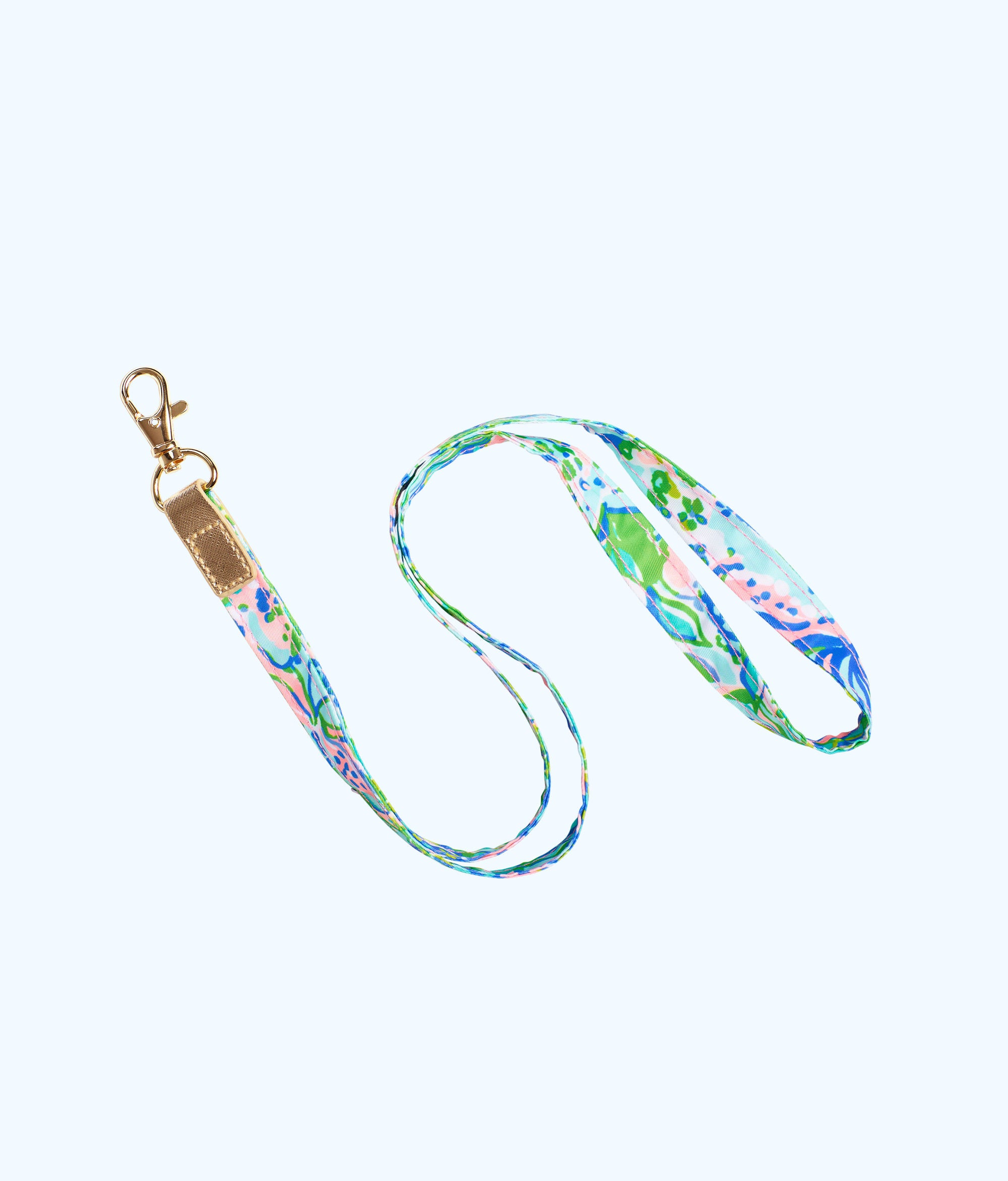 Lilly Pulitzer Lilly Lanyard - Multi Feline Good Accessories Small Select Size