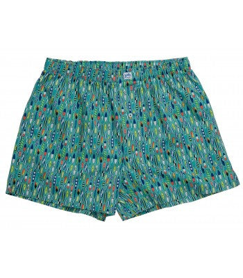 Southern Tide Ride The Tide Boxer - Haint Blue