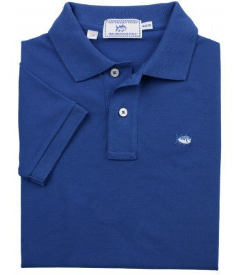 Southern Tide Boys Skipjack Polo - Blue Cove