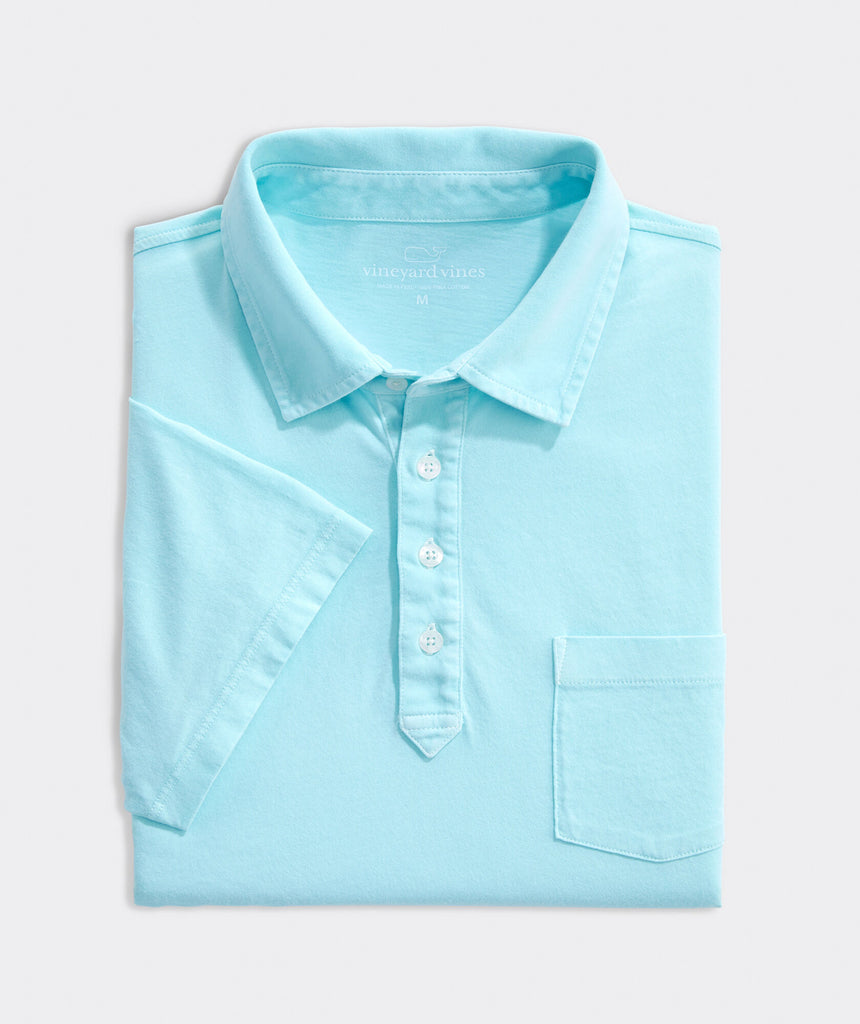 Vineyard Vines Garment Dyed Island Polo - Sea Splash