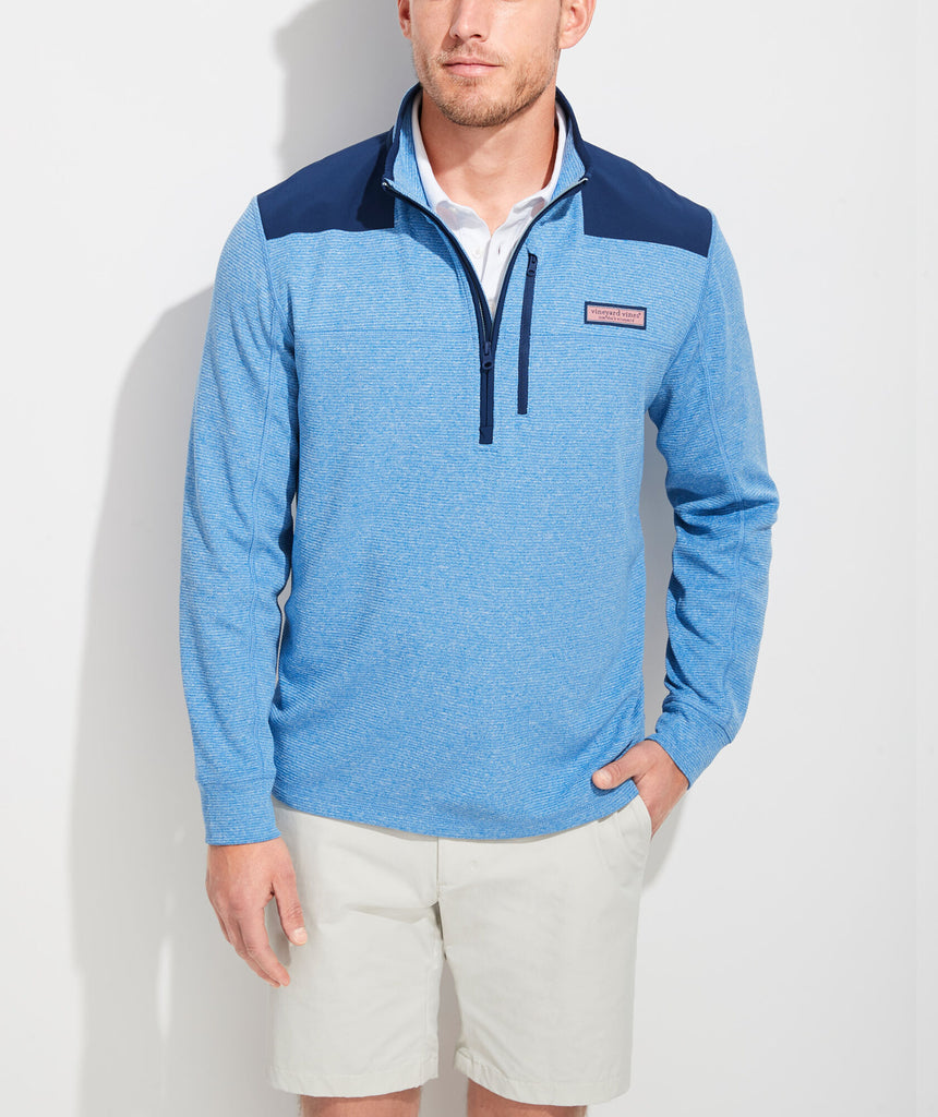 Vineyard Vines Ryder Performance Shep Shirt - Dockside Blue