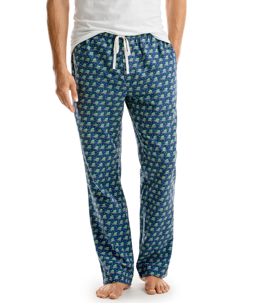 Vineyard Vines Woody & Tree Lounge Pants - Moonshine