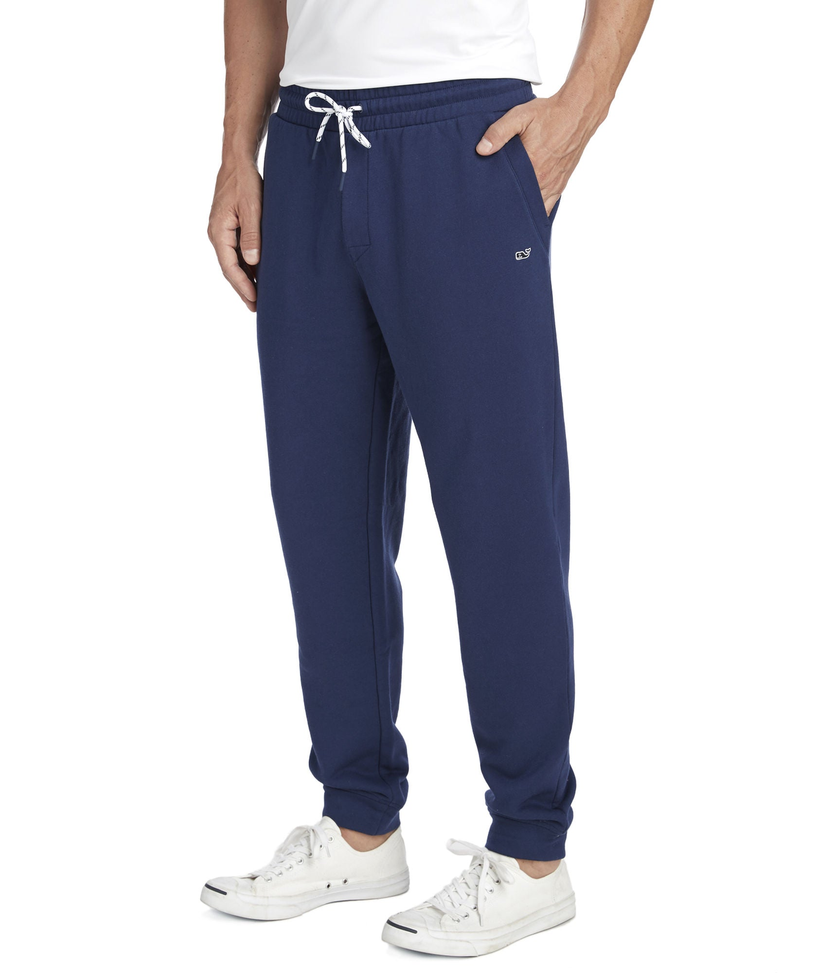 Vineyard Vines Heritage Terry Jogger Pants - Deep Bay