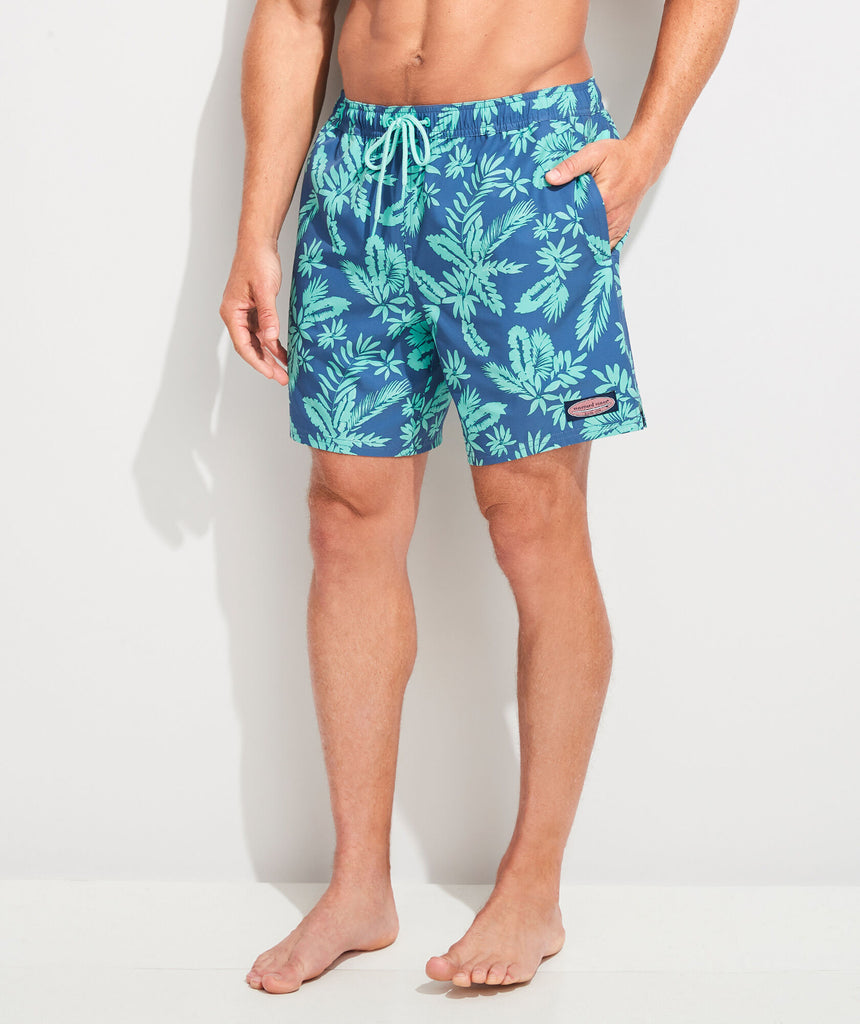 Vineyard Vines Printed Chappy Trunks - Antigua Green