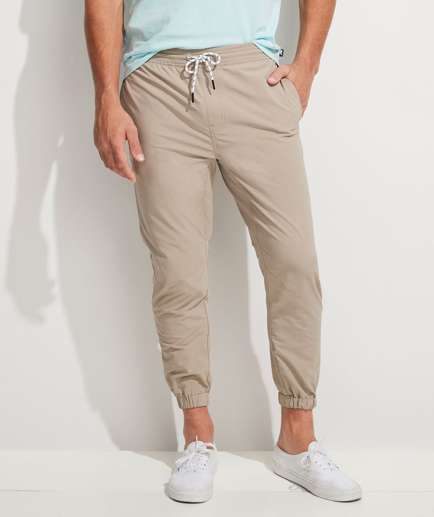 Vineyard Vines On-The-Go Joggers - Khaki