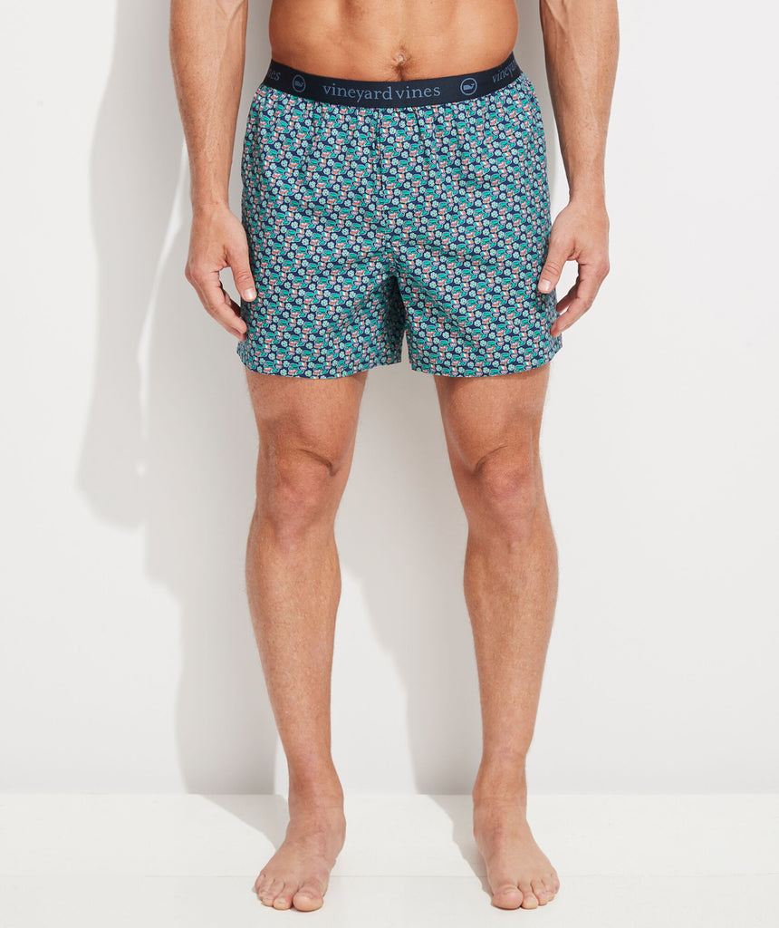Vineyard Vines Printed Boxers - Patty Deep Bay