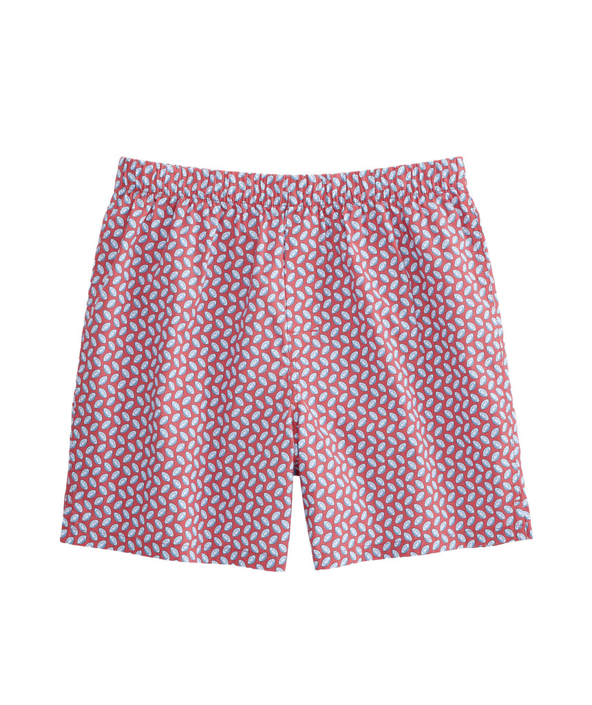 Vineyard Vines Football Geo Boxers - Sailors Red