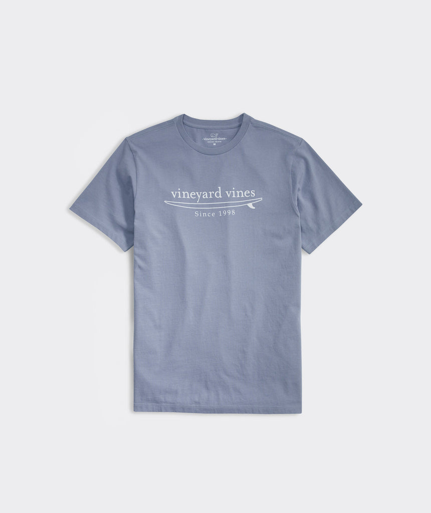 Vineyard Vines Simple Surf Logo Short-Sleeve Tee - Summer Evening