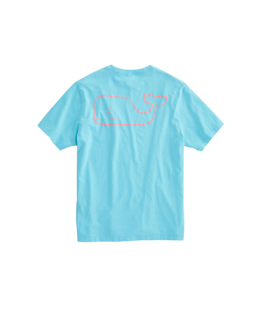 Vineyard Vines Men's Vintage Whale Pocket T-Shirt - Turqs