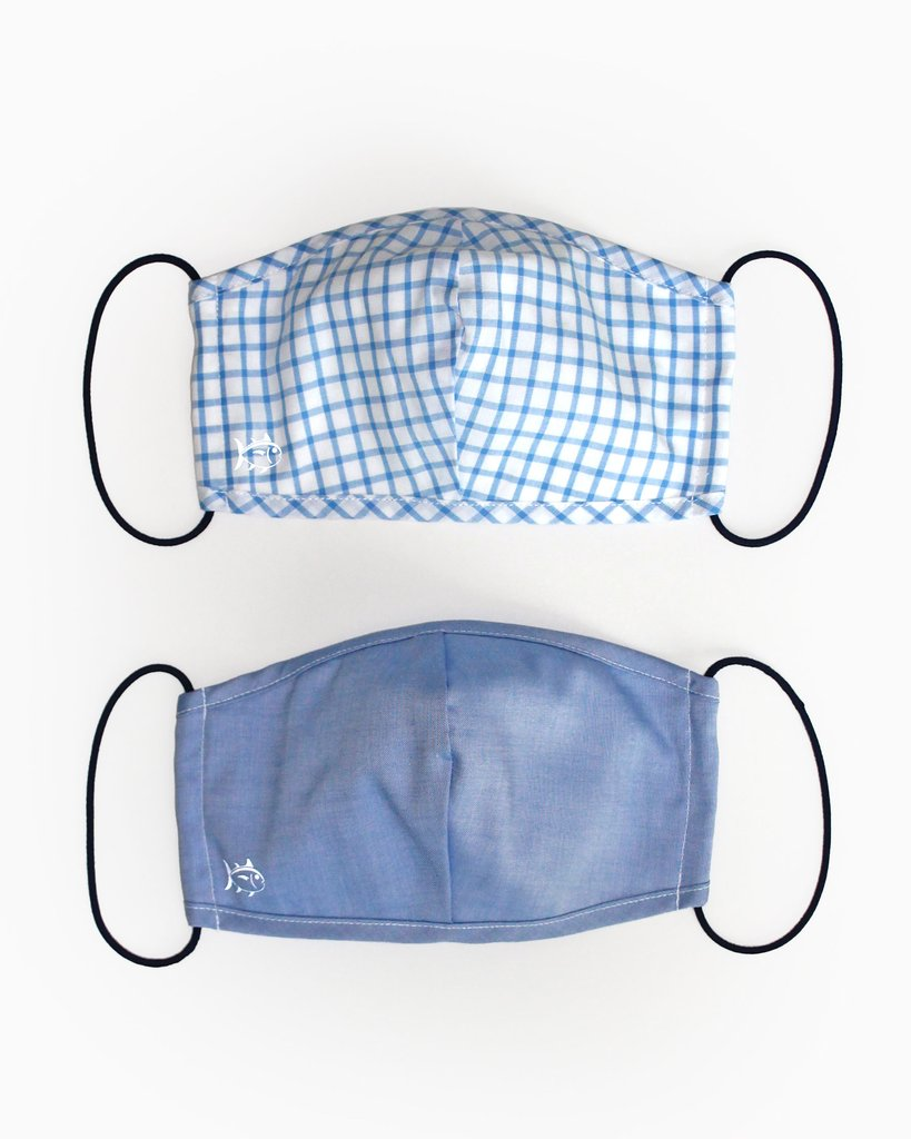 Southern Tide 2-Pack Face Mask Cover - Blue