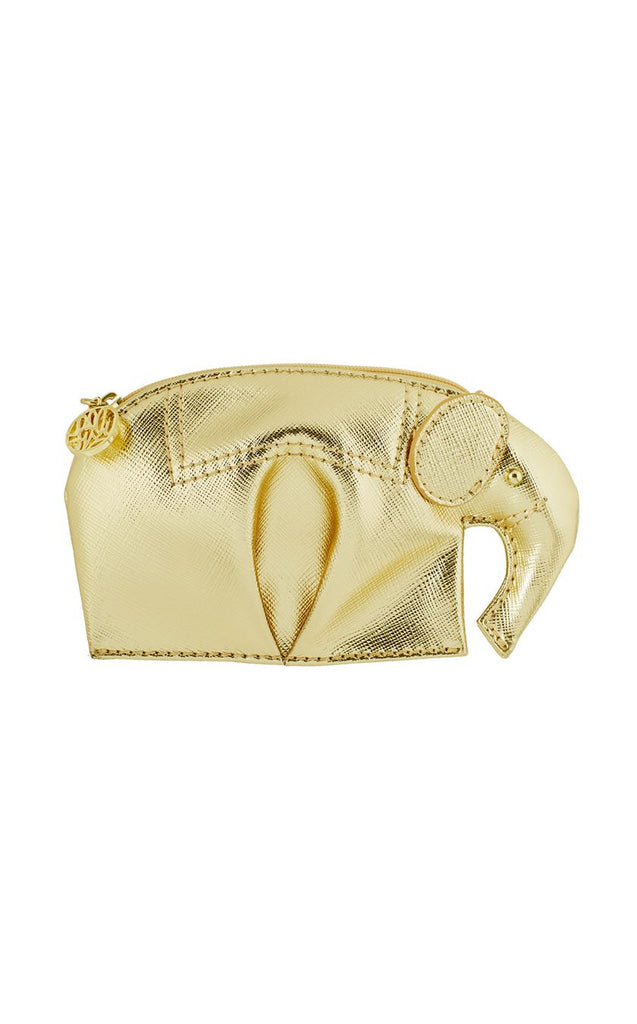 Lilly Pulitzer Elie Coin Purse -  Gold Metallic