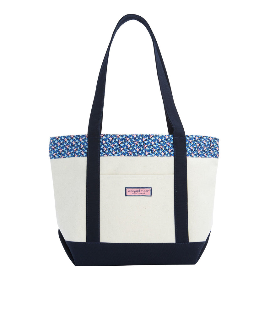 Vineyard Vines Multi Starfish Classic Tote - Moonshine