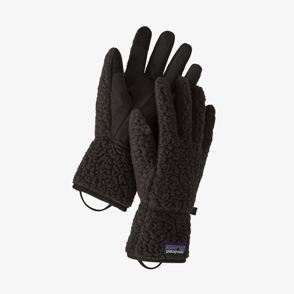 Patagonia Retro Pile Gloves - Black