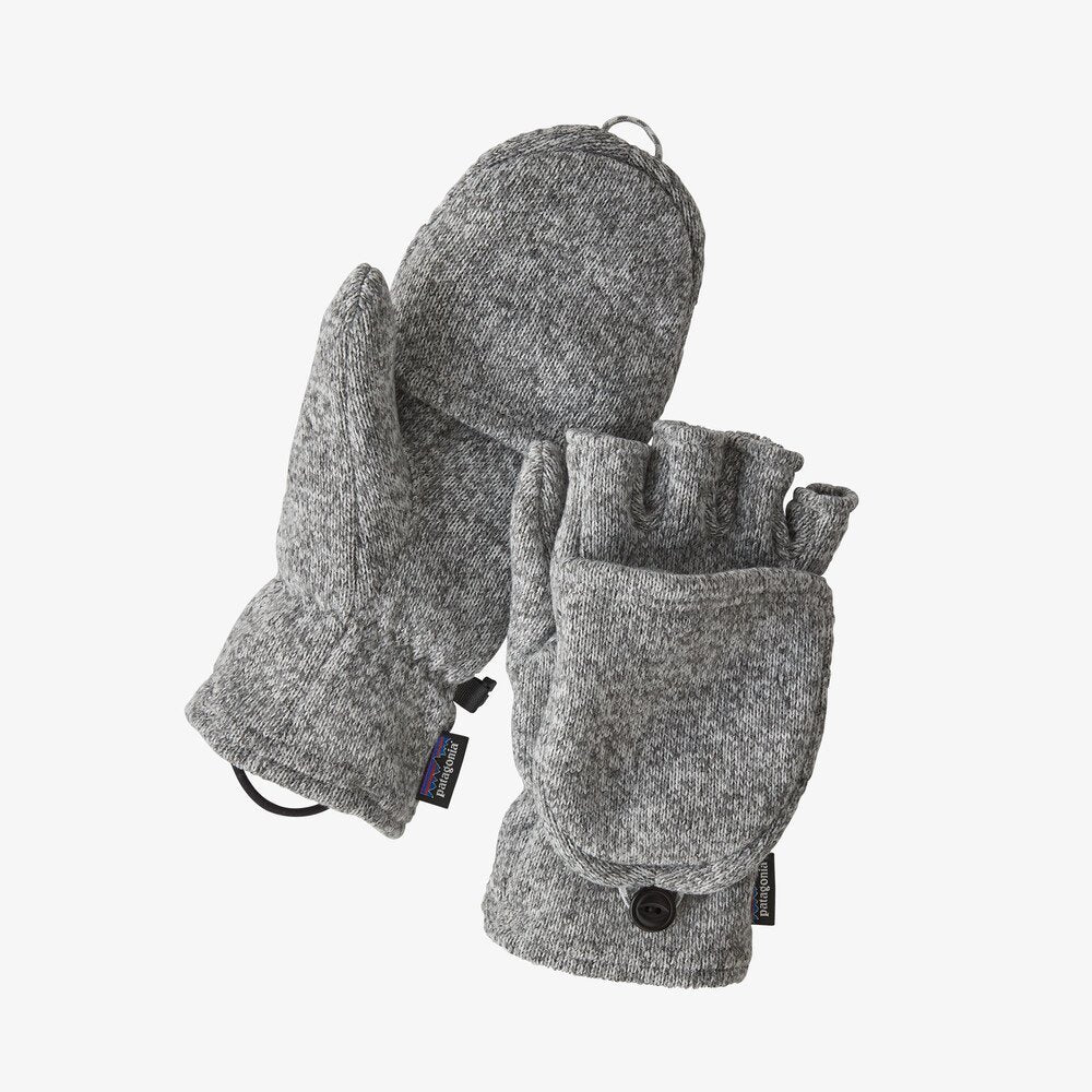 Patagonia Better Sweater™ Fleece Gloves - Birch White