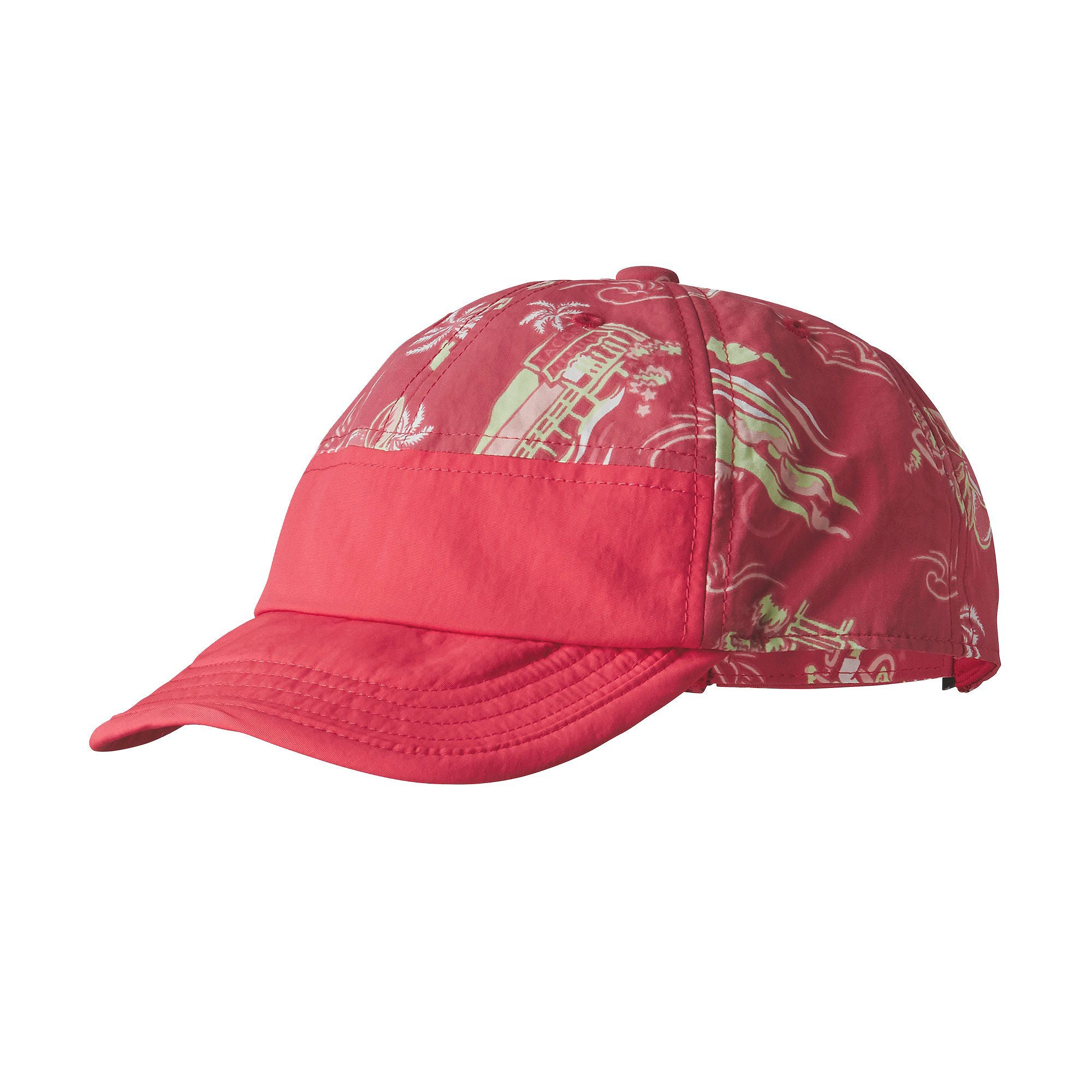 Patagonia Baby Baggies™ Cap - C Street Small: Cerise Front View