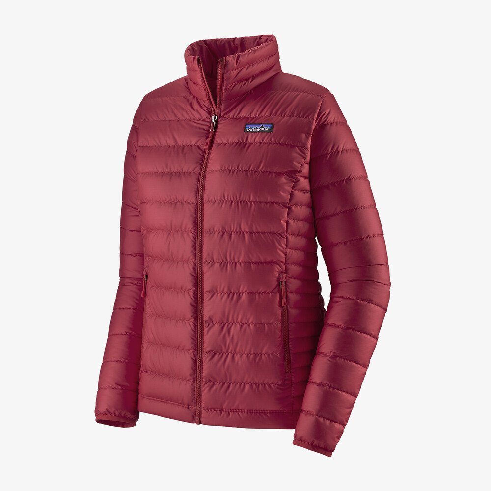 Patagonia Women's Down Sweater Jacket - Roamer Red