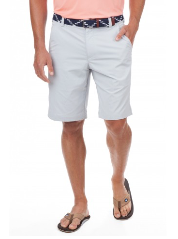 "Southern Tide 9"" Skipjack Short - Steel Grey"