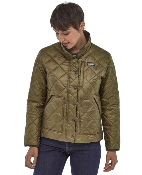 Patagonia Women's Back Pasture Field Jacket - Sage Khaki