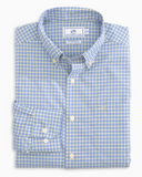 Southern Tide Barnacle Check Intercoastal Sport Shirt - Sunshine