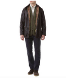Barbour Beaufort Jacket - Rustic and Sage