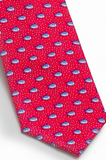 Southern Tide Skipjack Bubbles Tie - Red