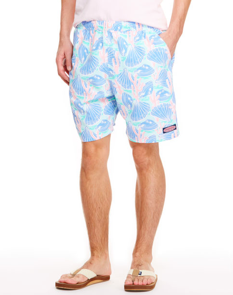 Vineyard Vines Shells And Coral Chappy Trunks