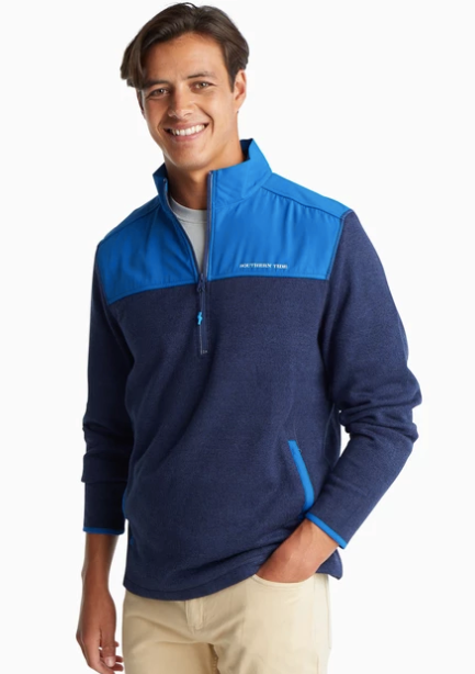 Southern Tide Cottage Sweater Fleece Quarter Zip