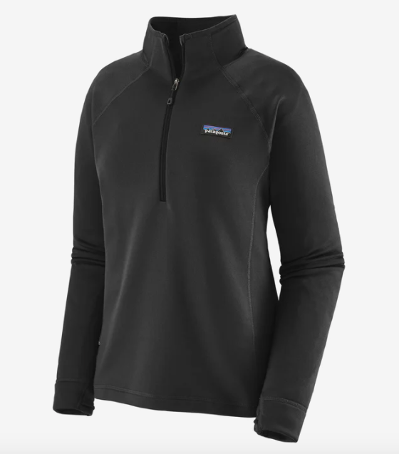 Patagonia Women's Crosstrek 1/4-Zip Fleece - Black