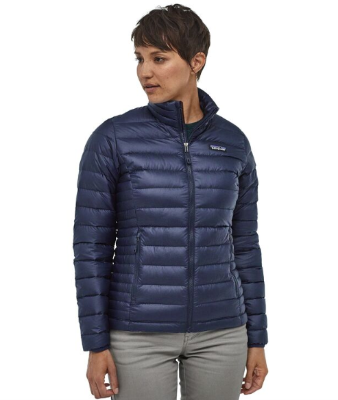 Patagonia Women's Down Sweater Jacket - Classic Navy