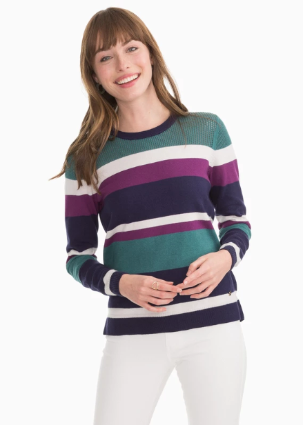 Southern Tide Esme Crew Neck Sweater