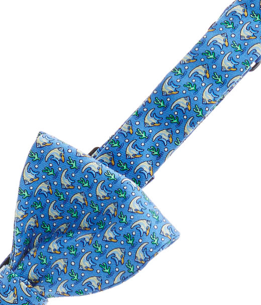 Vineyard Vines Angel Fish Bow Tie - Royal Blue