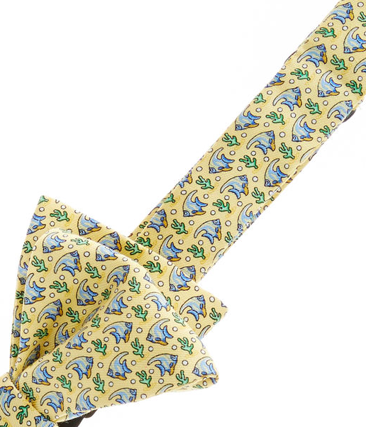 Vineyard Vines Angel Fish Bow Tie - Yellow