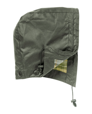 Barbour Waxed Cotton Hood Sage Rustic Olive Krizia