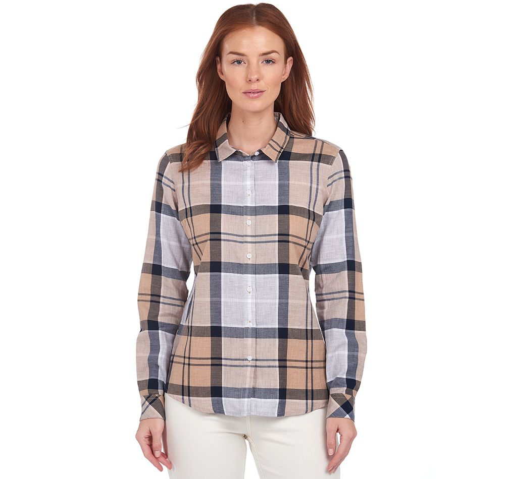 Barbour Bredon Shirt - Oatmeal