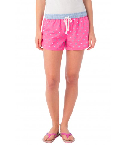 Southern Tide Women's Skipjack Lounge Short - Berry